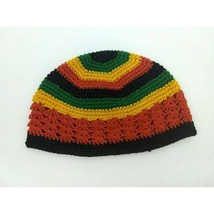 Other - Rasta Rastafari baby toddler crocheted beanie